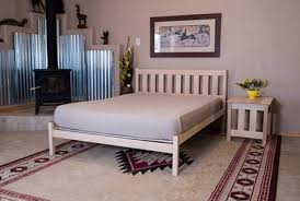 natural bed frames by pacific rim nomad and bedworks of maine