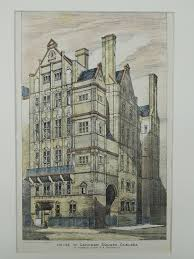 house in cadogan square chelsea london england 1883 r norman