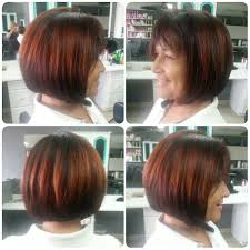 hair color 201 a line haircut with shine line hair color