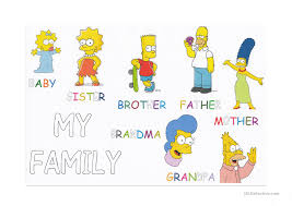 family members tracing and letter coloring worksheet free esl