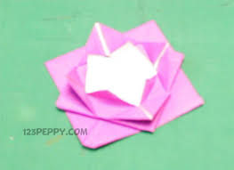 Paper Craft Steps - how to make origami 123peppy
