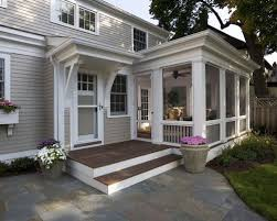 house porch add screened porch one story ranch ideas photos houzz