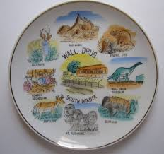South Dakota travel towel images 56 best collectible plates images plate travel jpg
