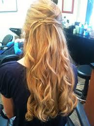 prom hairstyles half up half down women medium haircut