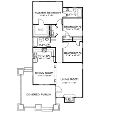 cottage style house plan 3 beds 2 00 baths 1145 sq ft plan 43 104
