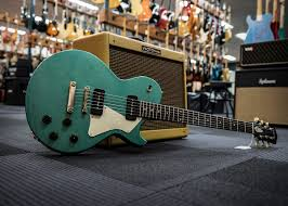 collings 290 aged in sherwood green cool guitar of the day