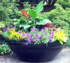 Pot Garden Ideas Large Garden Containers And Pots Landscape Ideas Mosaic Plant Pots