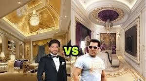 Shahrukh Khan House Salman Khan Cars Vs Shahrukh Khan Cars 2017 Free Download Video