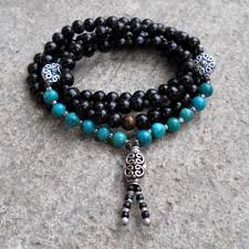 turquoise gemstone malas lovepray jewelry