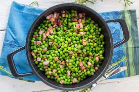 sautéed peas with pancetta and onions thanksgiving
