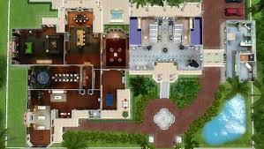 mod the sims celebrity mansion