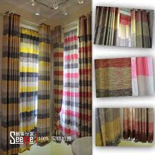 decorations charming modern polyester kitchen interior design cozy room decoration with grey horizontal striped