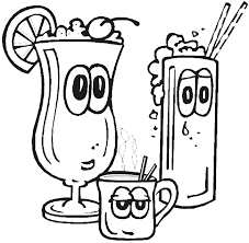 drinks coloring pages crafts and worksheets for preschool