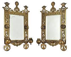 Mirror With Candle Sconces Vintage Hardware U0026 Lighting