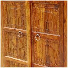 Storage Armoire Cabinet Wood Kitchen Corner Storage Armoire Cabinet New