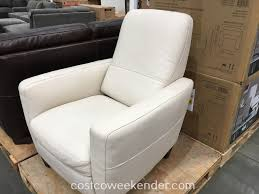 Natuzzi Leather Recliner Chair Natuzzi Group Leather Push Back Recliner Chair Costco Weekender
