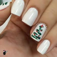 three designs christmas nails the crafty ninja
