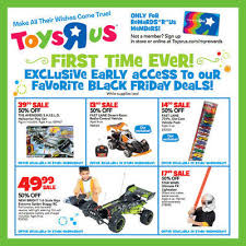 toys r us early black friday sales