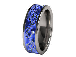 mens blue wedding bands the pros and cons of titanium wedding bands for men wedding styles