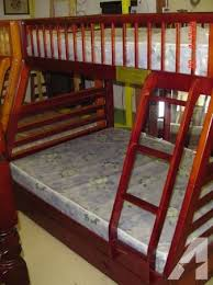 Bunk Beds Tulsa New All Wood Bunk Bed W Storage Tulsa For Sale