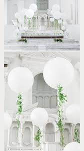 large white balloons innenarchitektur best 25 wedding balloons ideas on
