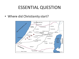 rise of christianity ppt
