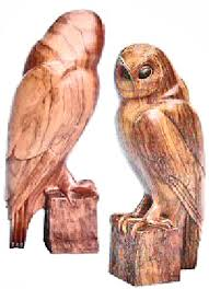 owl wood carving owl
