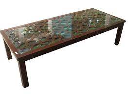 rectangular coffee table designs for living room center glass