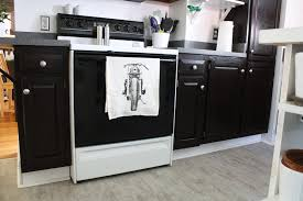 Kitchen Cabinets Refinished How To Refinish Oak Cabinets With Stain The Big Reveal Merrypad