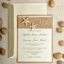 starfish wedding invitations inspirational destination wedding invitations or starfish