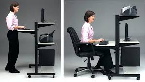 Height Of A Computer Desk Adjustable Height Computer Desks Djustble Hopco Height Adjustable