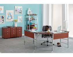 Mezza L Shaped Desk Prop