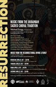 new liturgical movement resurrection concert series of ukrainian