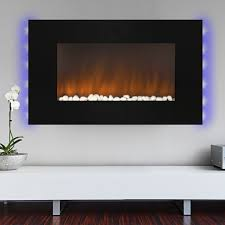 Wall Mounted Electric Fireplace Heater 36