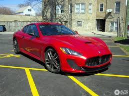 maserati granturismo red maserati granturismo mc centennial edition 6 april 2017 autogespot