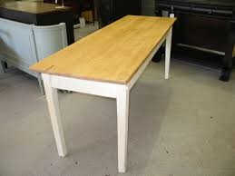 long narrow dining table a bench andrea outloud