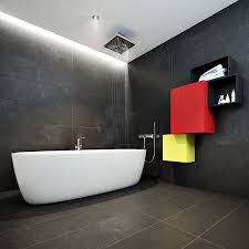 exotic black floor paint color feat cool modular wall storage and