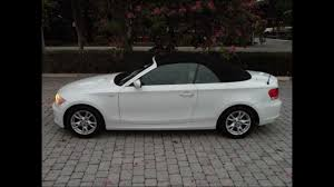 2009 bmw 128i convertible for sale 2008 bmw 128i white convertible for sale ft myers fl 33908