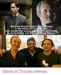 Stannis Baratheon Memes - stephen dillane stannis baratheon is the father of frank otiane