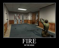 Fire In The Hole Meme - i always hear quot fire in your hole quot 39190787 added by