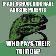 Art School Owl Meme - nobody understands art school pony funny