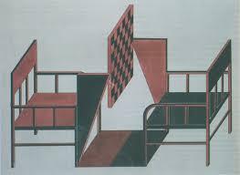 Modern Chess Table Aleksandr Rodchenko Lenin Workers U0027 Club In Paris 1925 The