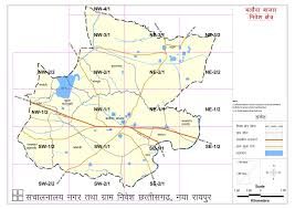 Grid Map Balodabazar Master Plan 2031 Report Balodabazar 2031 Map U0026 Details