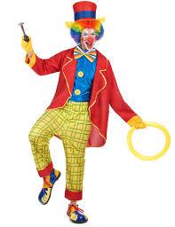 clown costume colourful clown costume for men vegaoo