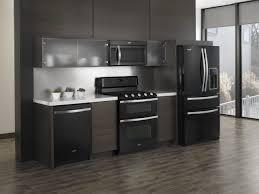 black appliances kitchen ideas kitchen ideas with black appliances glass door storage cabinet