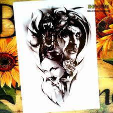 tattoo home decor compare prices on wolf tattoo art online shopping buy low price