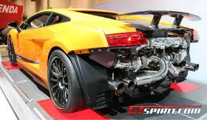 lamborghini gallardo tt sema 2011 racing turbo gallardo superleggera