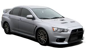 mitsubishi evo drawing lancer evo x clipart