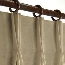 Drapery Clip Hanging Pinch Pleat Curtains With Clip Rings Homeminimalis Com