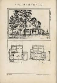 quaint house plans 159 best plan books images on vintage houses house